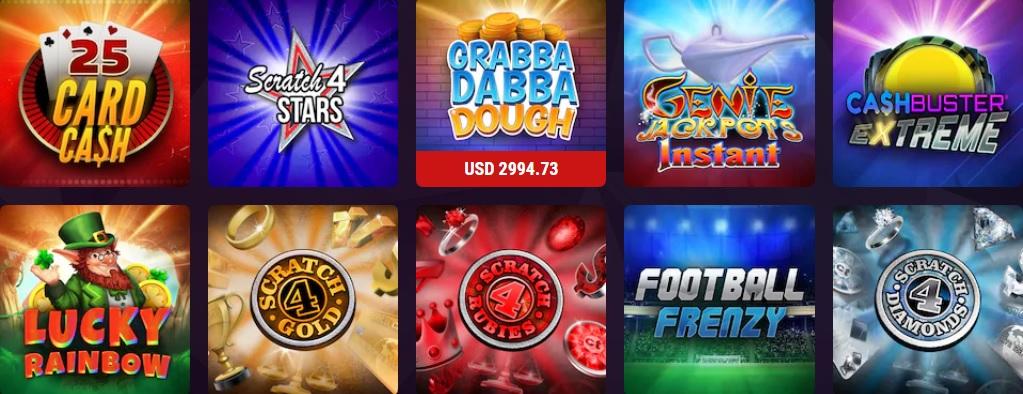 Juegos de casino online de Argentina.