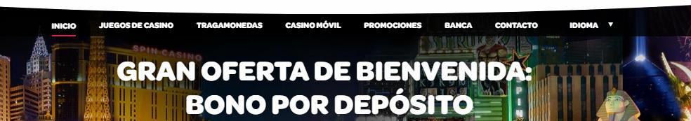 Bono de bienvenida en un casino online en Chile.