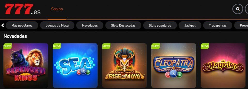 777 Casino es una de las webs habilitadas para operar en el mundo