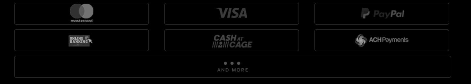 888 Casino cuenta con varias modalidades de métodos de pago.
