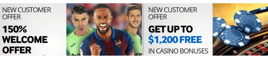 Betway ofrece a sus jugadores un suculento bono de bienvenida