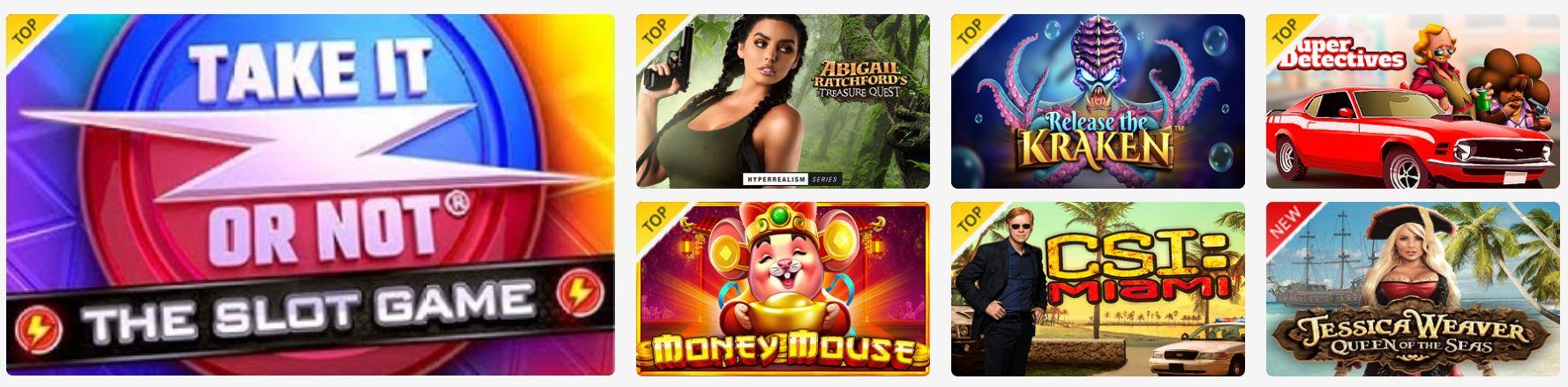 Los juegos de azar son una de las especialidades de este casino.