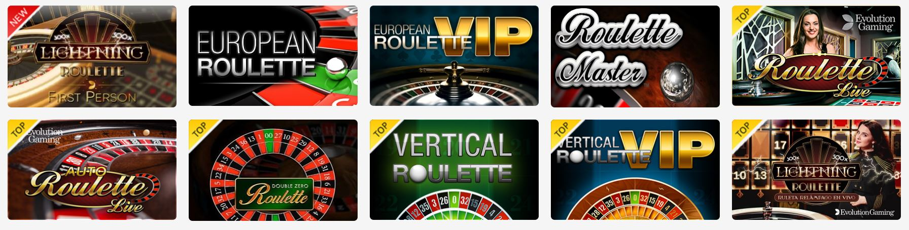 Podrás jugar a muchos slots en Circus Casino.