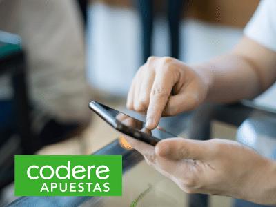 Puedes descargarla aplicación para Androiddesde el mismo sitio web de Codere.