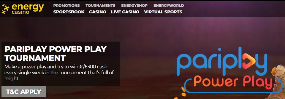 Energy Casino es una de las páginas que da mayores ventajas