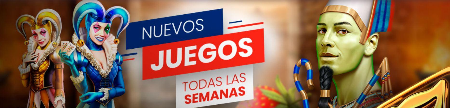 Existen juegos semanales en las tragaperras españolas