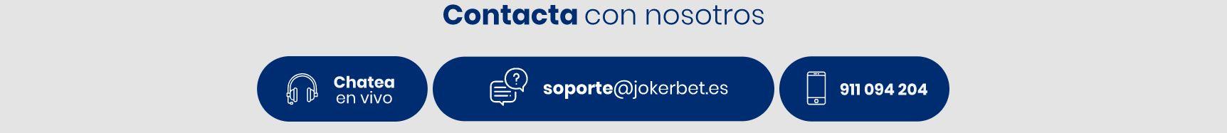 Jokerbet cuenta con un servicio de atención al cliente dedicado y eficaz.