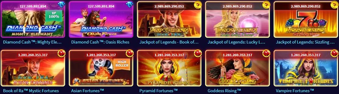 Gametwist se caracteriza por su enorme oferta de juegos