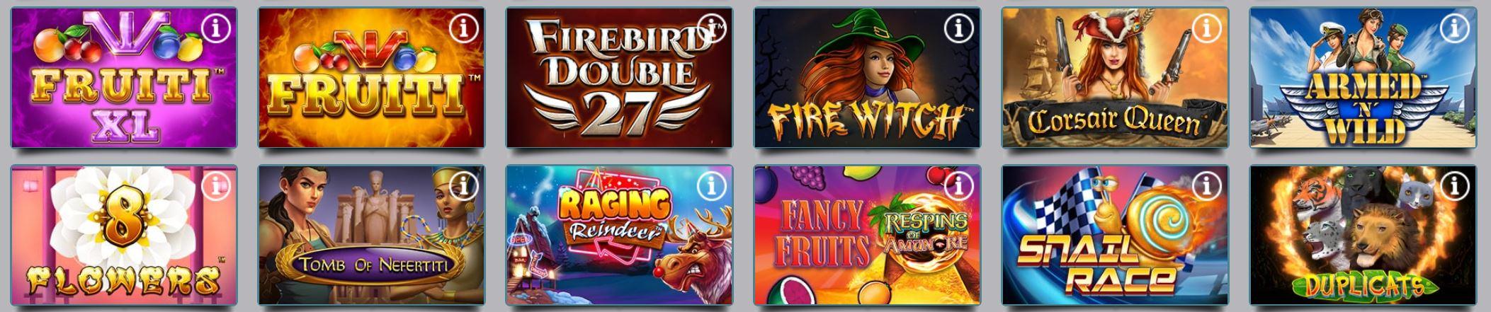 Karamba cuenta con un amplio catálogo de juegos para sus usuarios.