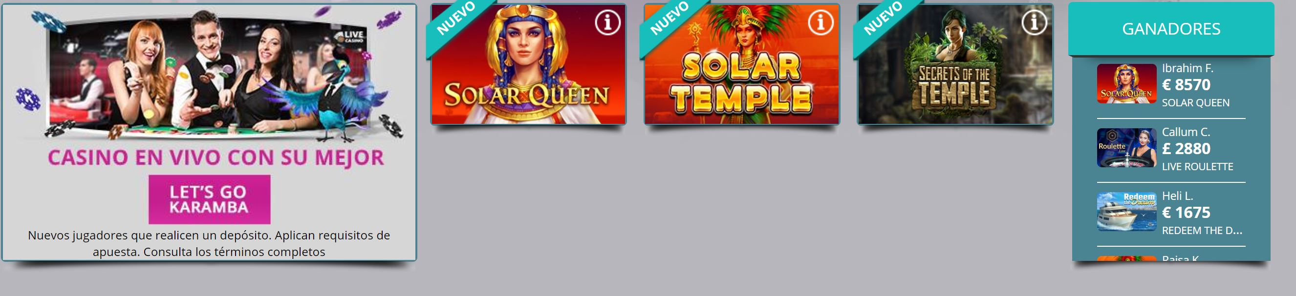 Este casino ofrece excelentes bonos de bienvenida a sus usuarios.