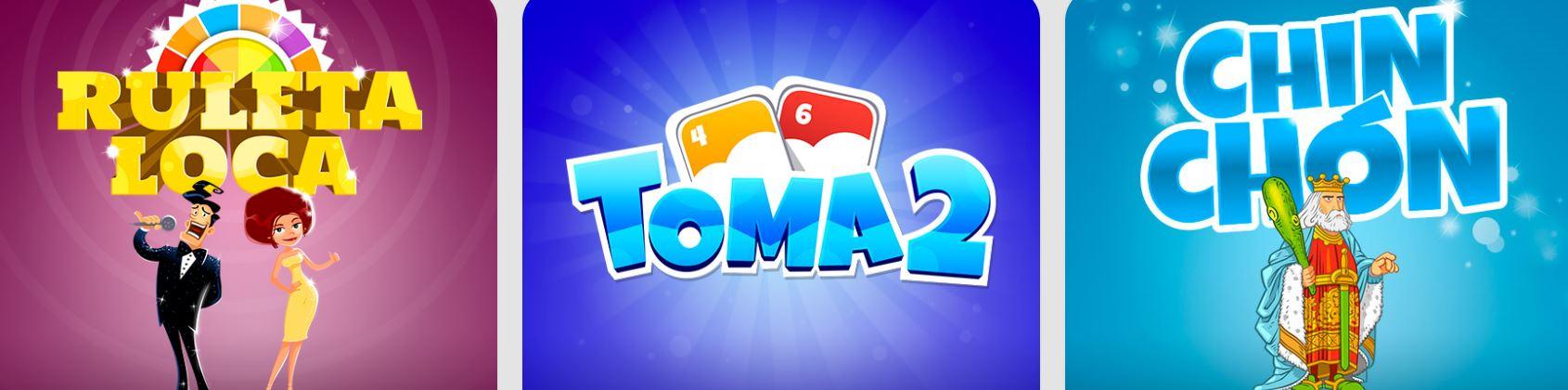 Los juegos de cartas como el toma 2 son muy populares dentro de este sitio web.