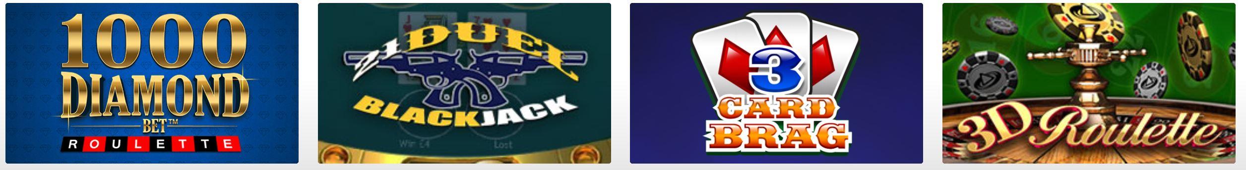 Este sitio cuenta con gran variedad de juegos de azar.