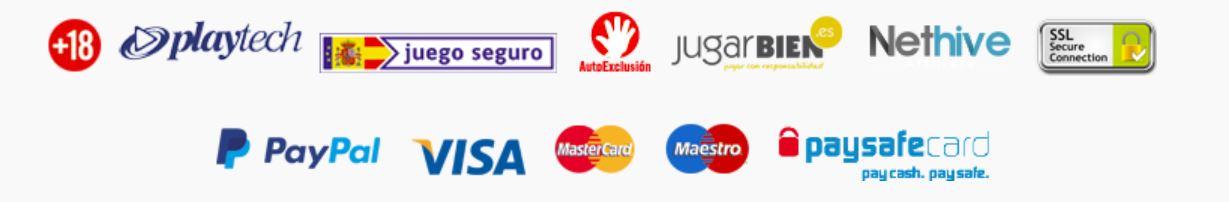 Marca Apuestas Casino ofrece gran variedad de métodos de pago.