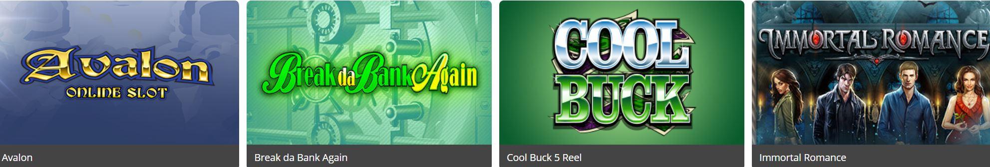 Existe gran variedad de juegos en los nuevos casinos.
