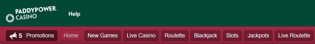 Podrás jugar a gran variedad de juegos de hacer en el casino de Paddy power.