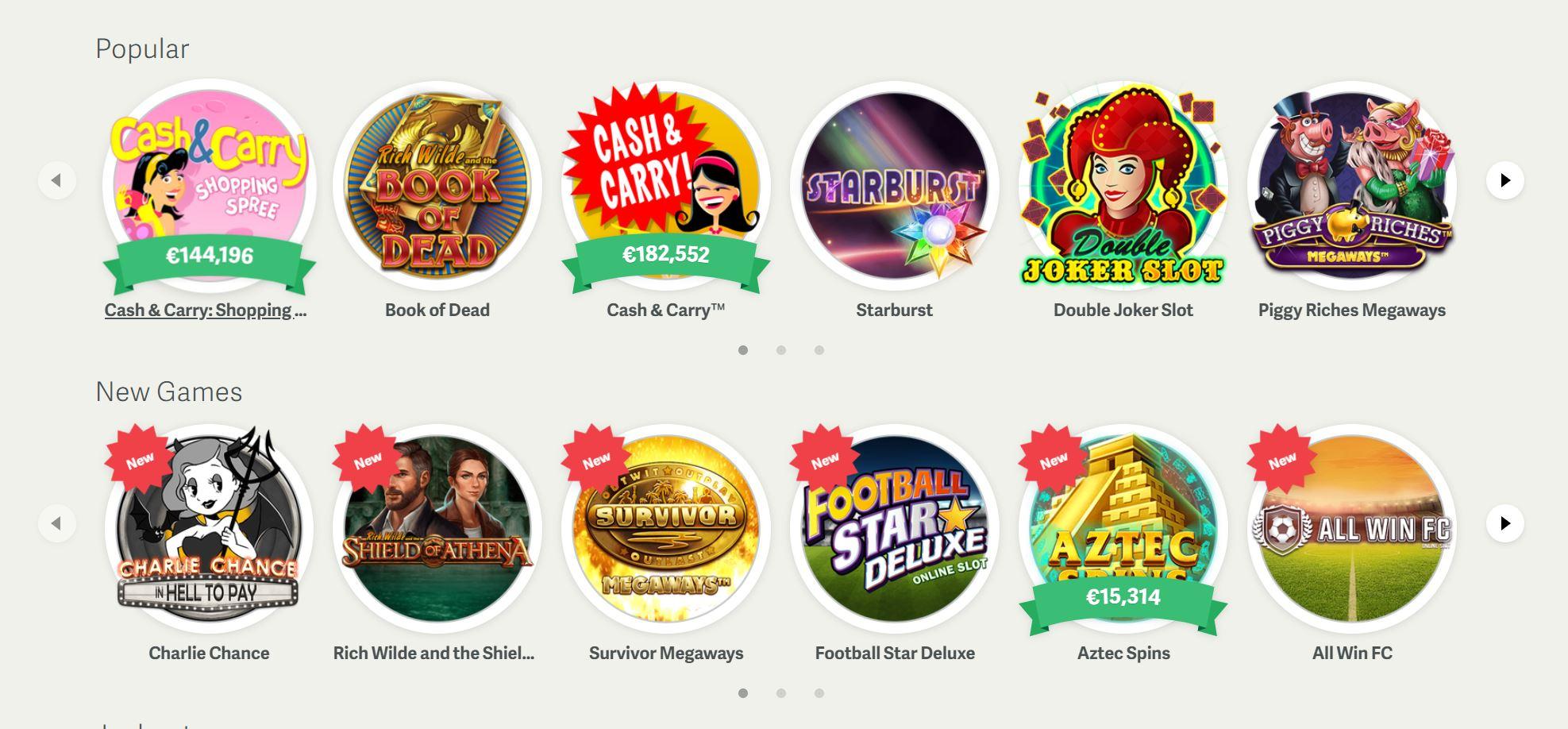 Existe gran variedad de juegos en el portal de paf.