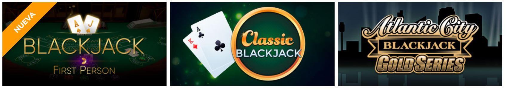 Podrás jugar a blackjack ene ste sitio de juego online.