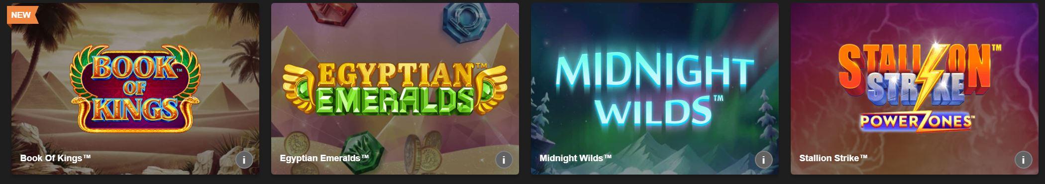 Existe gran variedad de juegos en las páginas de juego online.