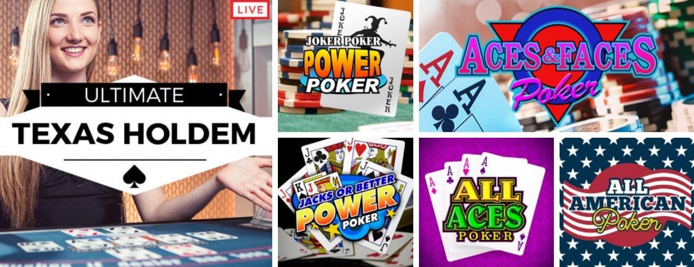 El póker es uno de los juegos online más populares.