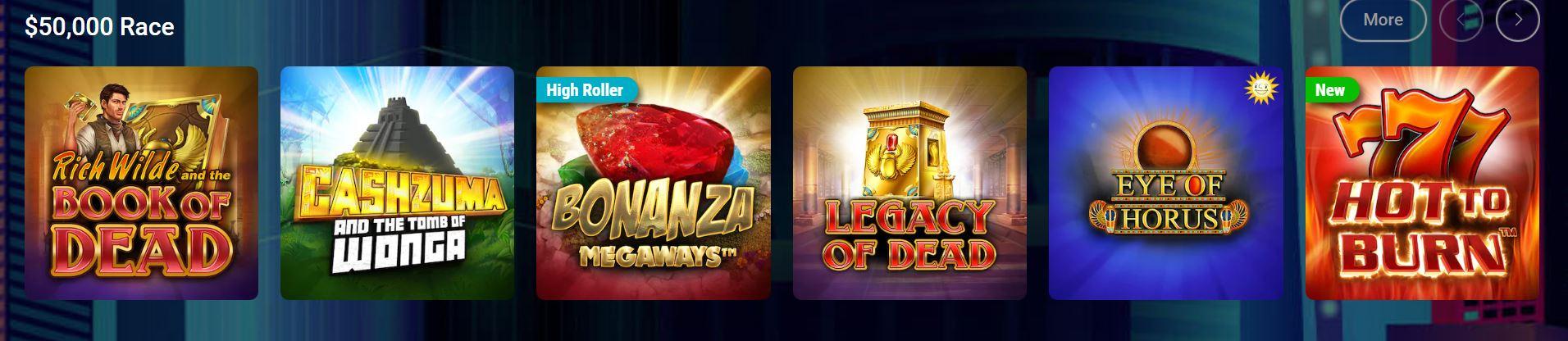 Los juegos de slots son los favoritos de pokerstars casino.