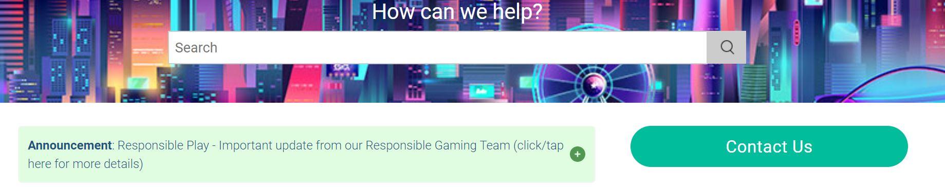 El soporte de este casino online es eficiente y rápido.