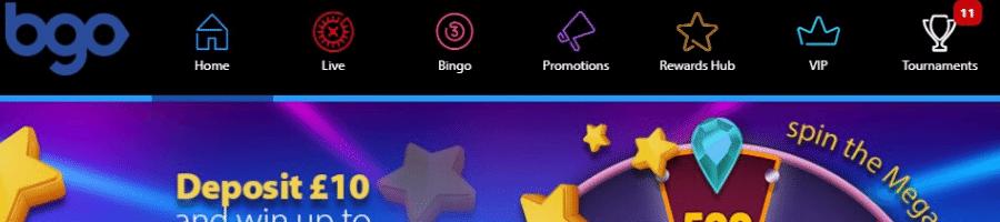 BGO es un excelente casino online