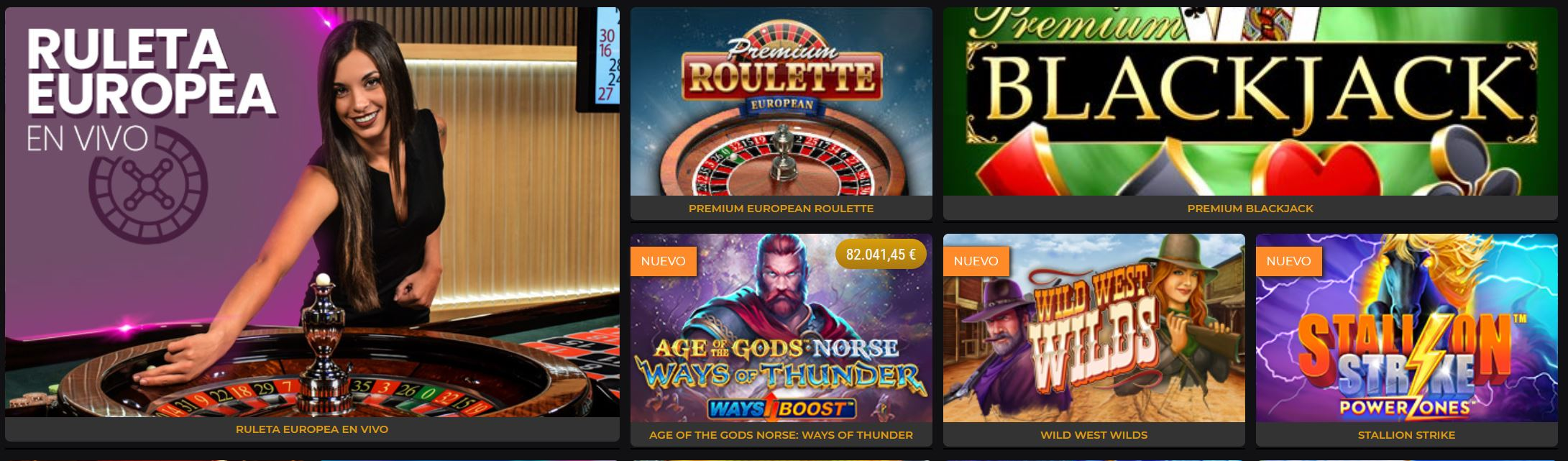 Existe una gran variedad de juegos en retabet.
