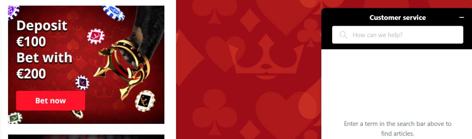 Royal panda casino tiene gran variedad de juegos disponibles.