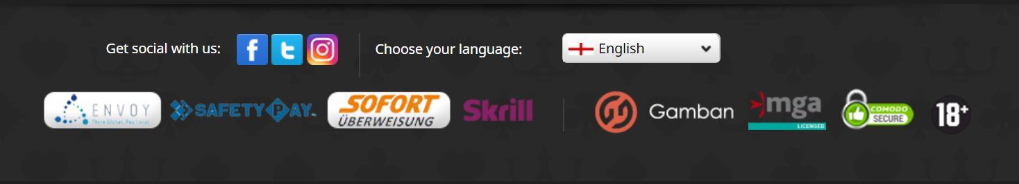 Podrás efectuar tus pagos en paypal o skrill en este sitio web.