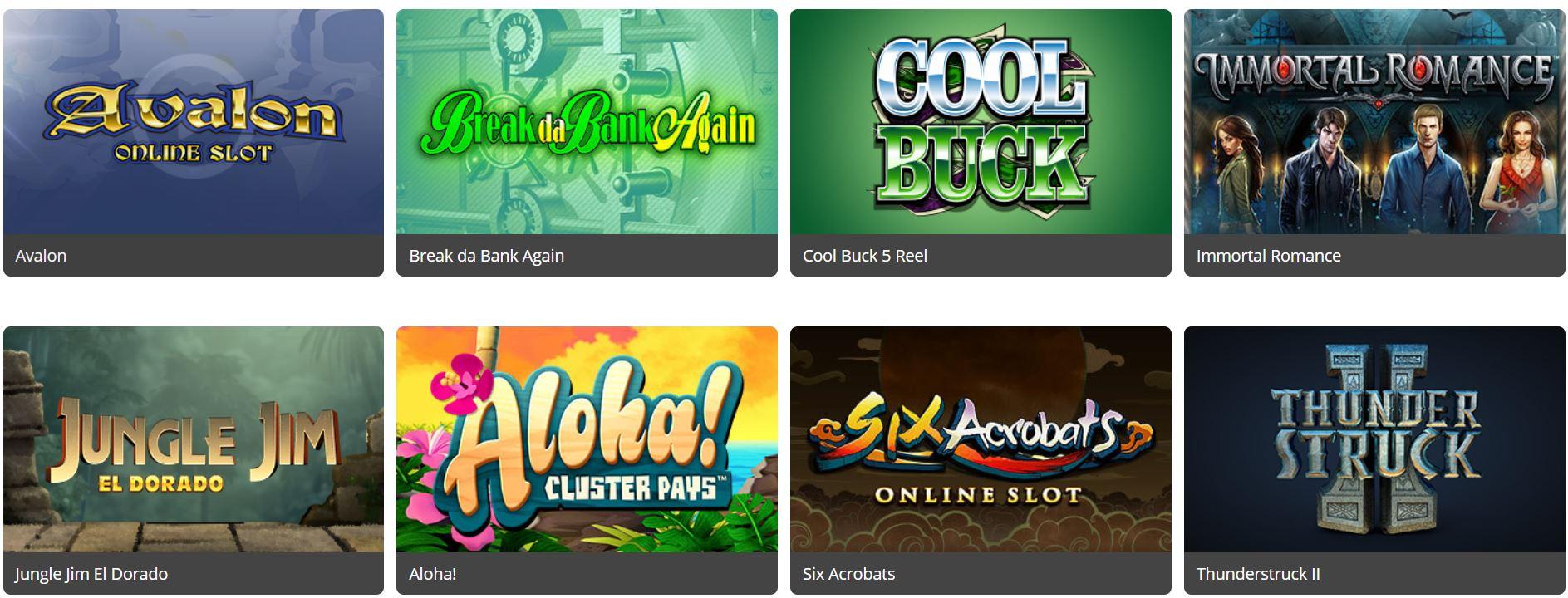 Royal vegas casino pone a tu disposición un amplio catálogo de juegos de azar.