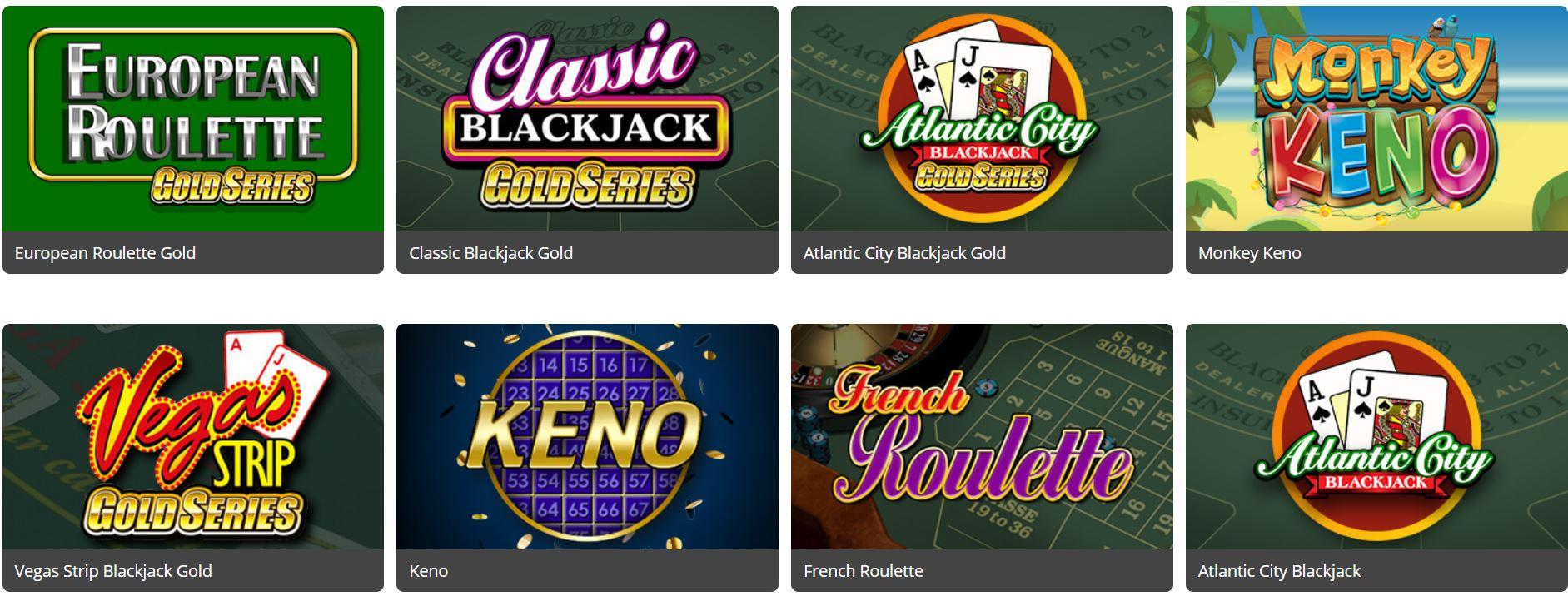 La variedad de juegos de este sitio de juegos de azar es muy amplia.