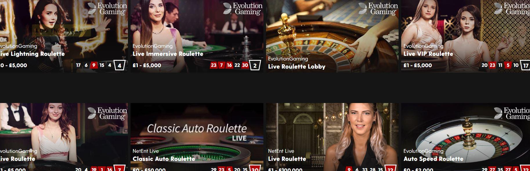 Las promociones de los casinos en línea se validan en la roulette.
