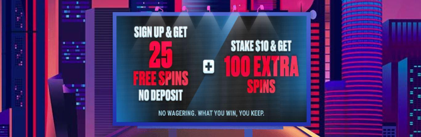 Puedes disfrutar de un bono bienvenida sin depósito en muchos casinos.