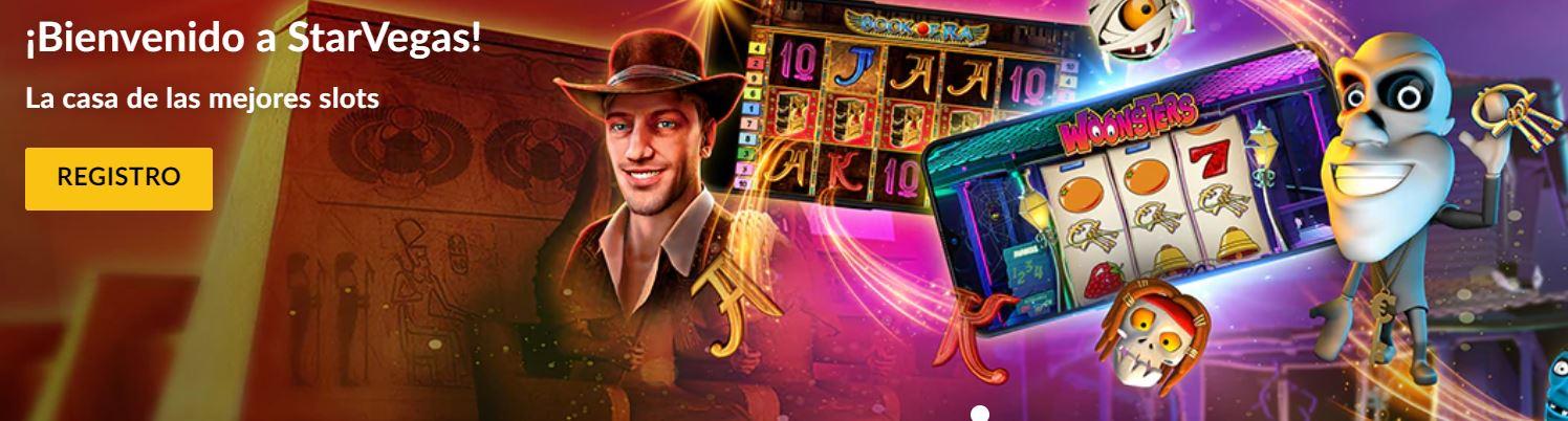 Podrás jugar a slots desde tu móvil con Starvegas.