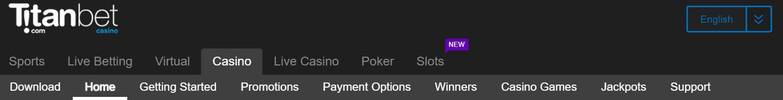 titanbet es un casino con muy buenas opiniones.