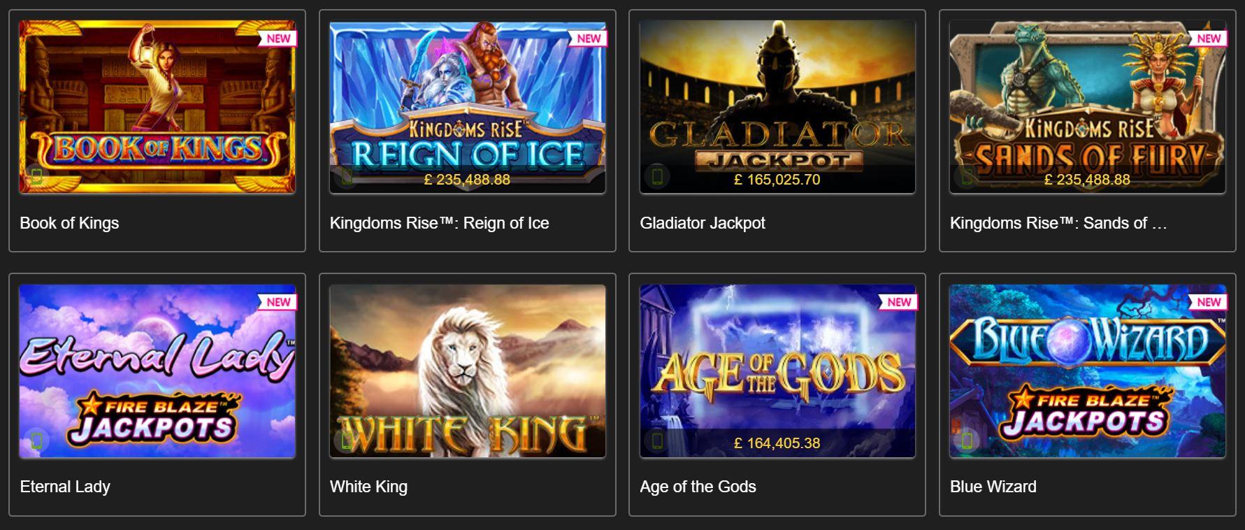 Podrás jugar a una gran variedad de juegos de casino en titanbet.