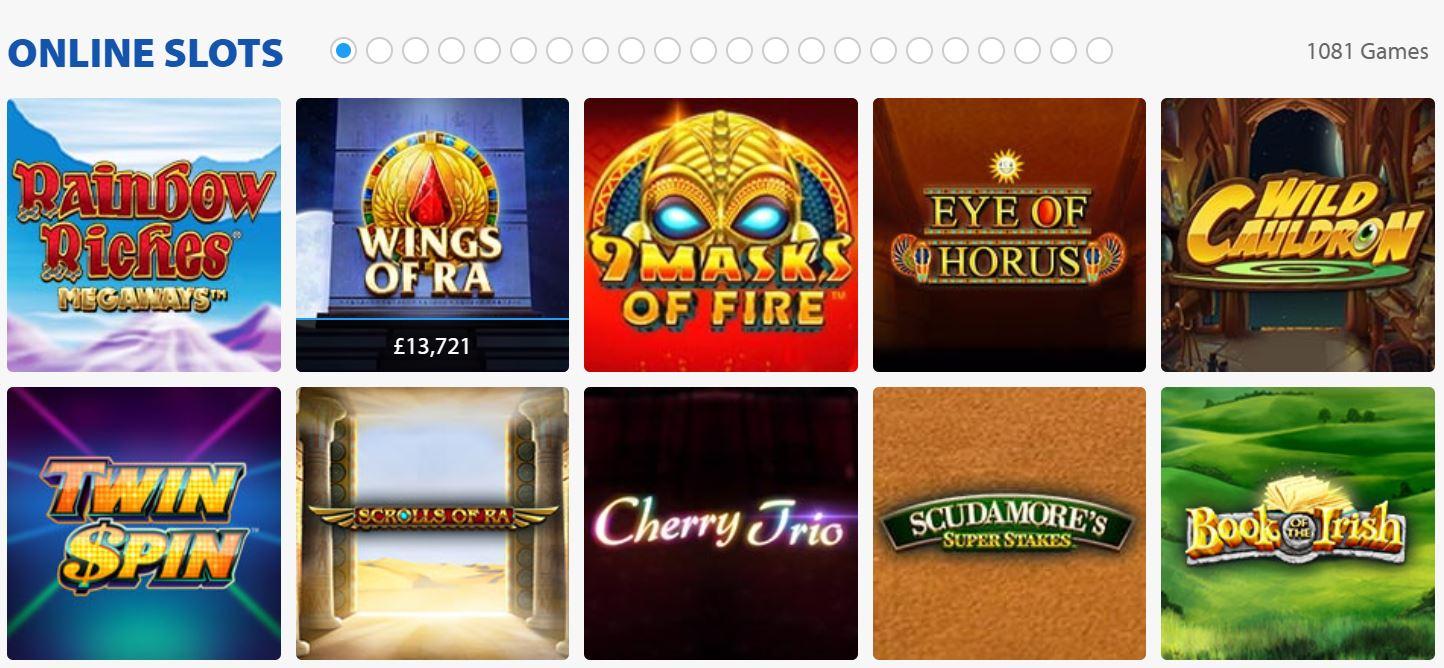 Las tragaperras online son muy populares en los casinos.