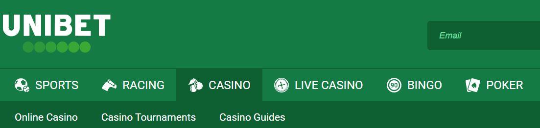 Unibet casino es una de las mejores opciones para hacer tiradas en juegos de azar.