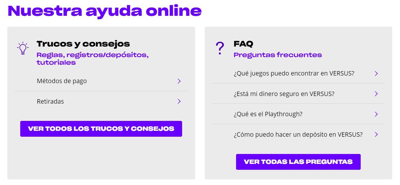 Este casino online cuenta con apoyo al cliente eficaz.