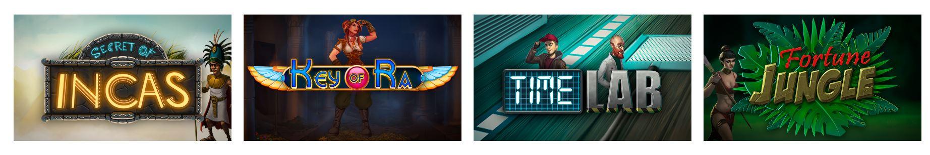Las tragaperras son uno de los juegos más populares de este casino.