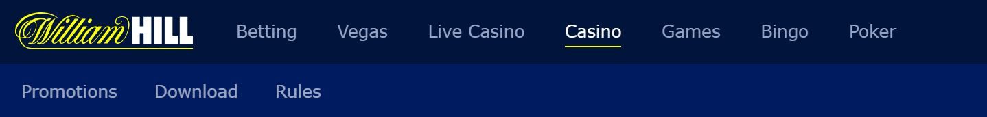 William hill es un casino online con excelente reputación.
