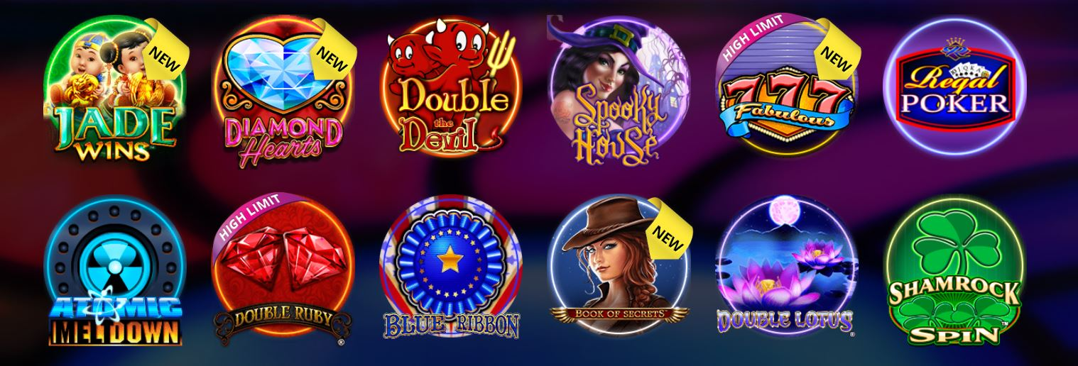 Los slots son uno de los juegos de casino más jugados en este sitio.
