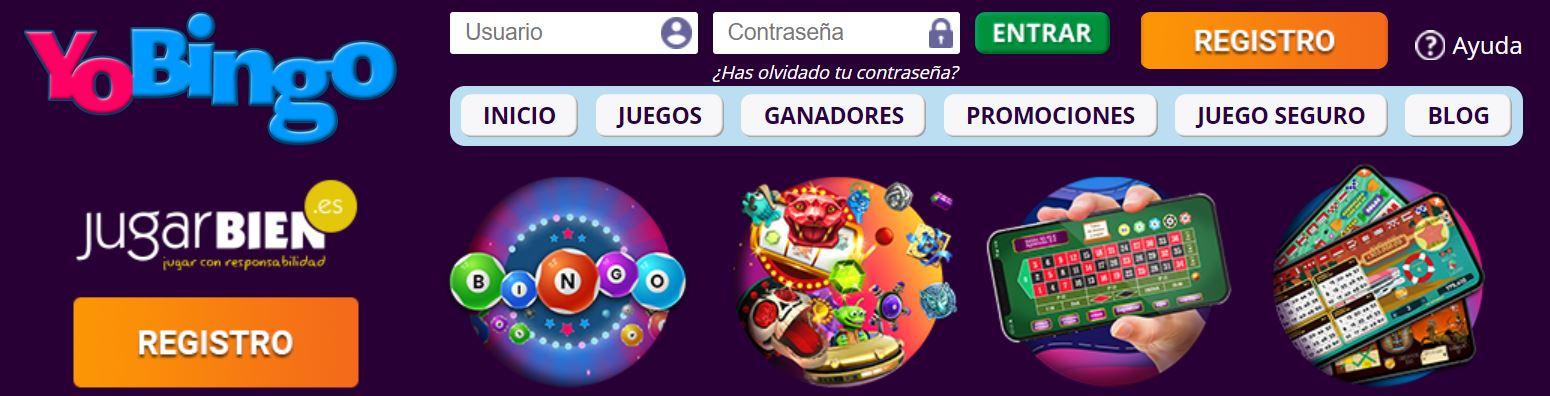En yobingo son especialistas en salas de bingo online.