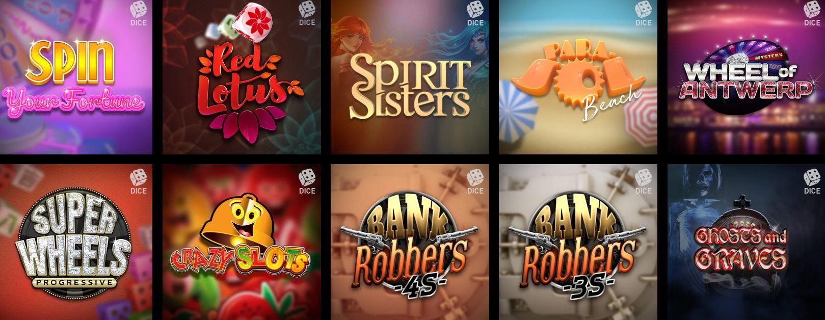 Los dados es uno de los juegos más populares de los casinos online.