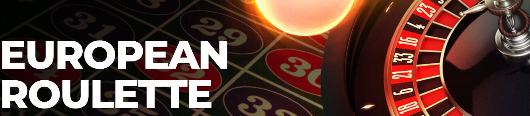 La european roulette está disponible en la mayoría de casinos.