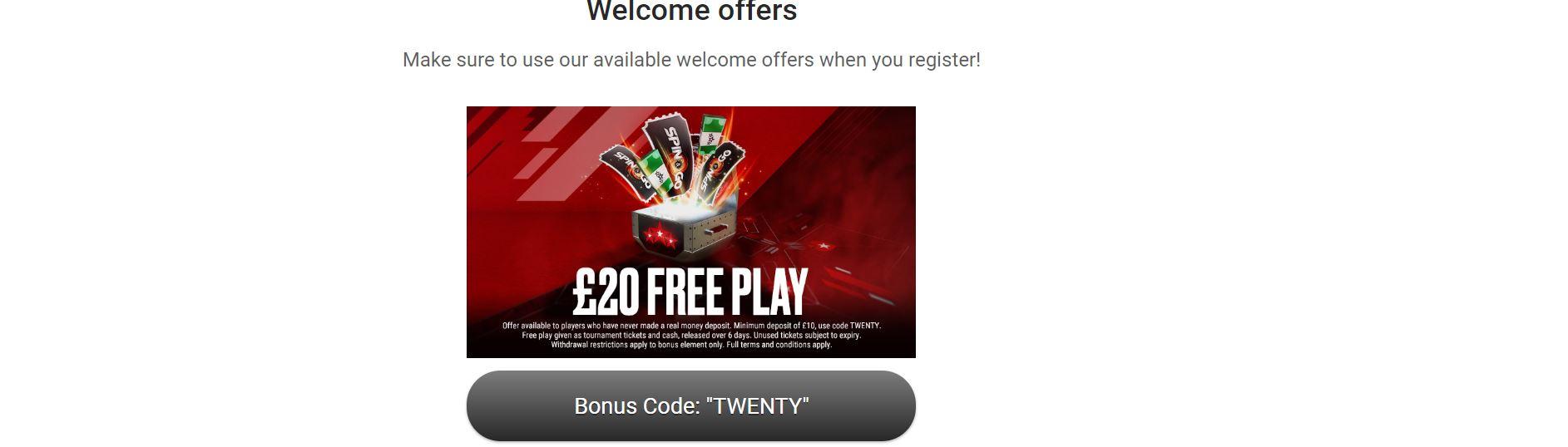El bono póker es útil para comenzar a jugar a este juego online.