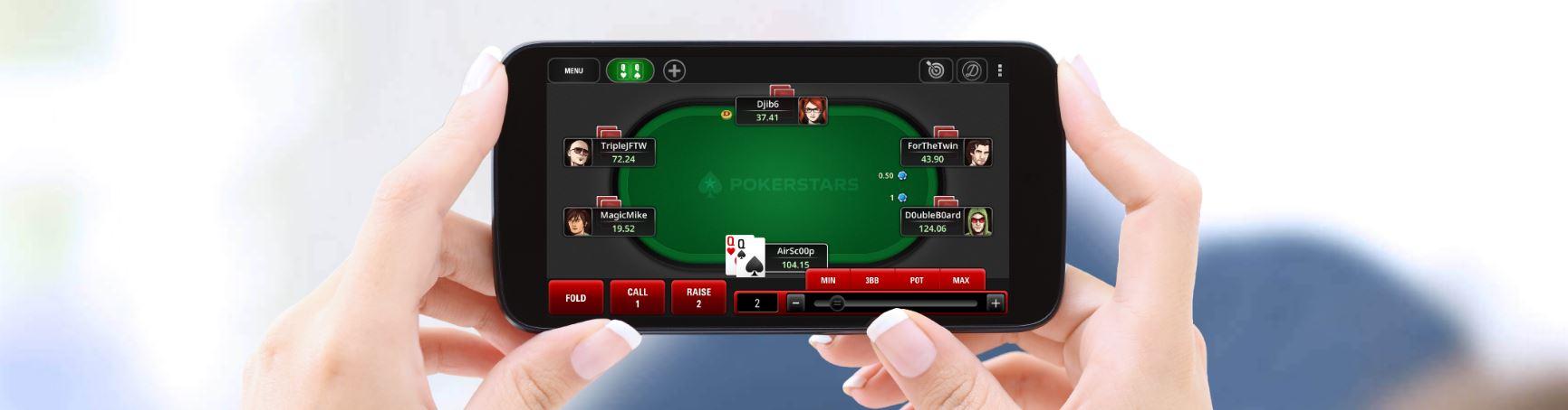 Puedes jugar a texas holdem desde tu móvil y totalmente online.
